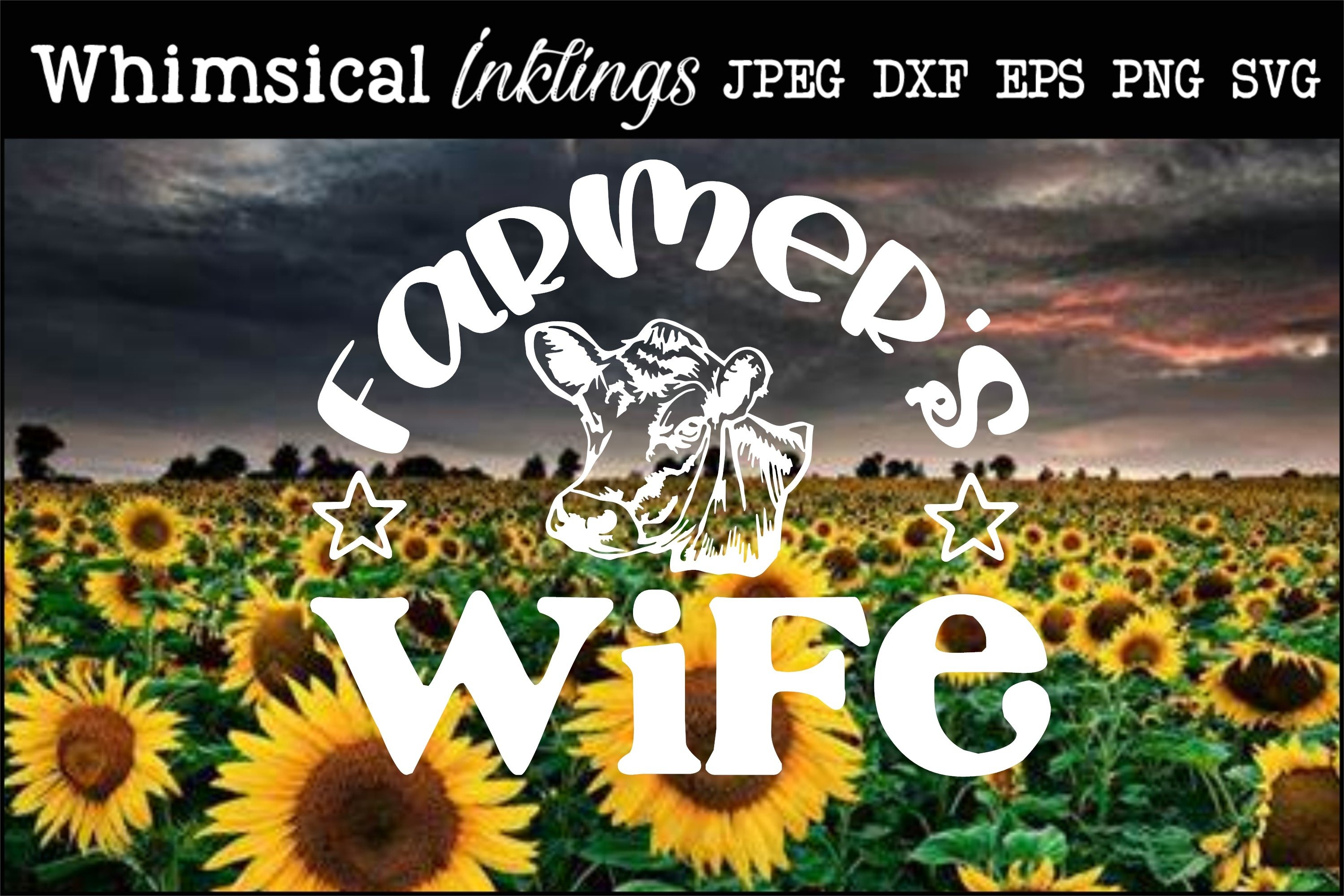 Farmers Wife SVG example image 1