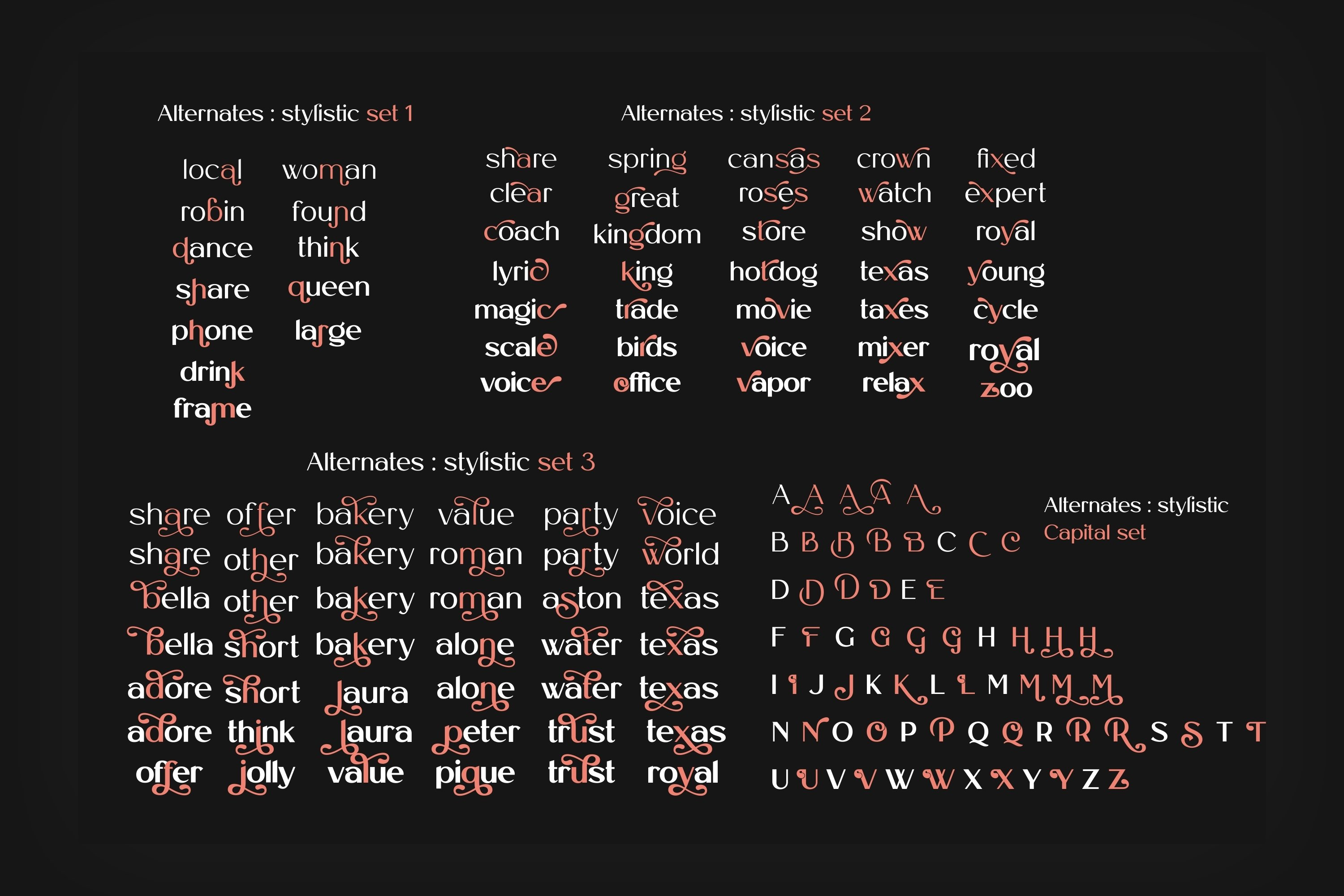 Royal Castle Font Family example image 13
