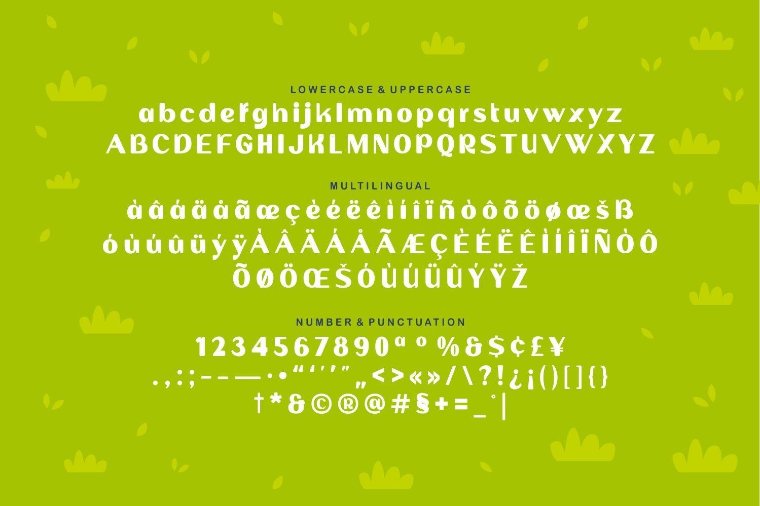 Baby Rhino - Playful Display Typeface example image 5