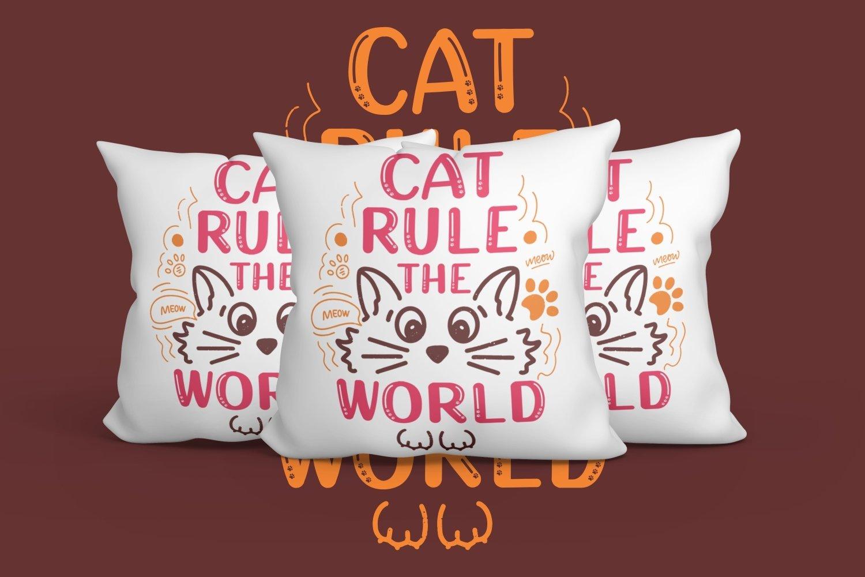 Cutie Kitten - Lovely Kitten Font example image 4