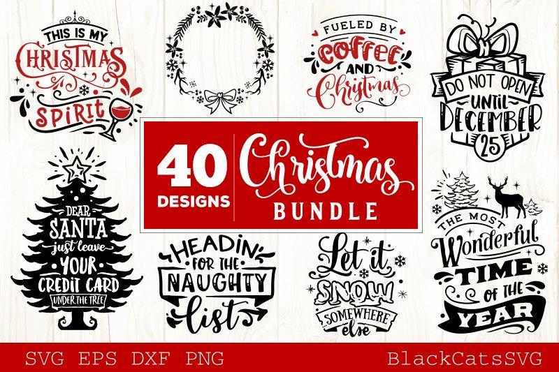 Christmas Bundle SVG bundle 40 designs vol 4