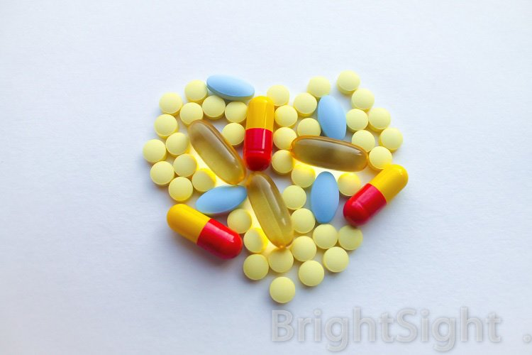 Pills as a heart example image 1