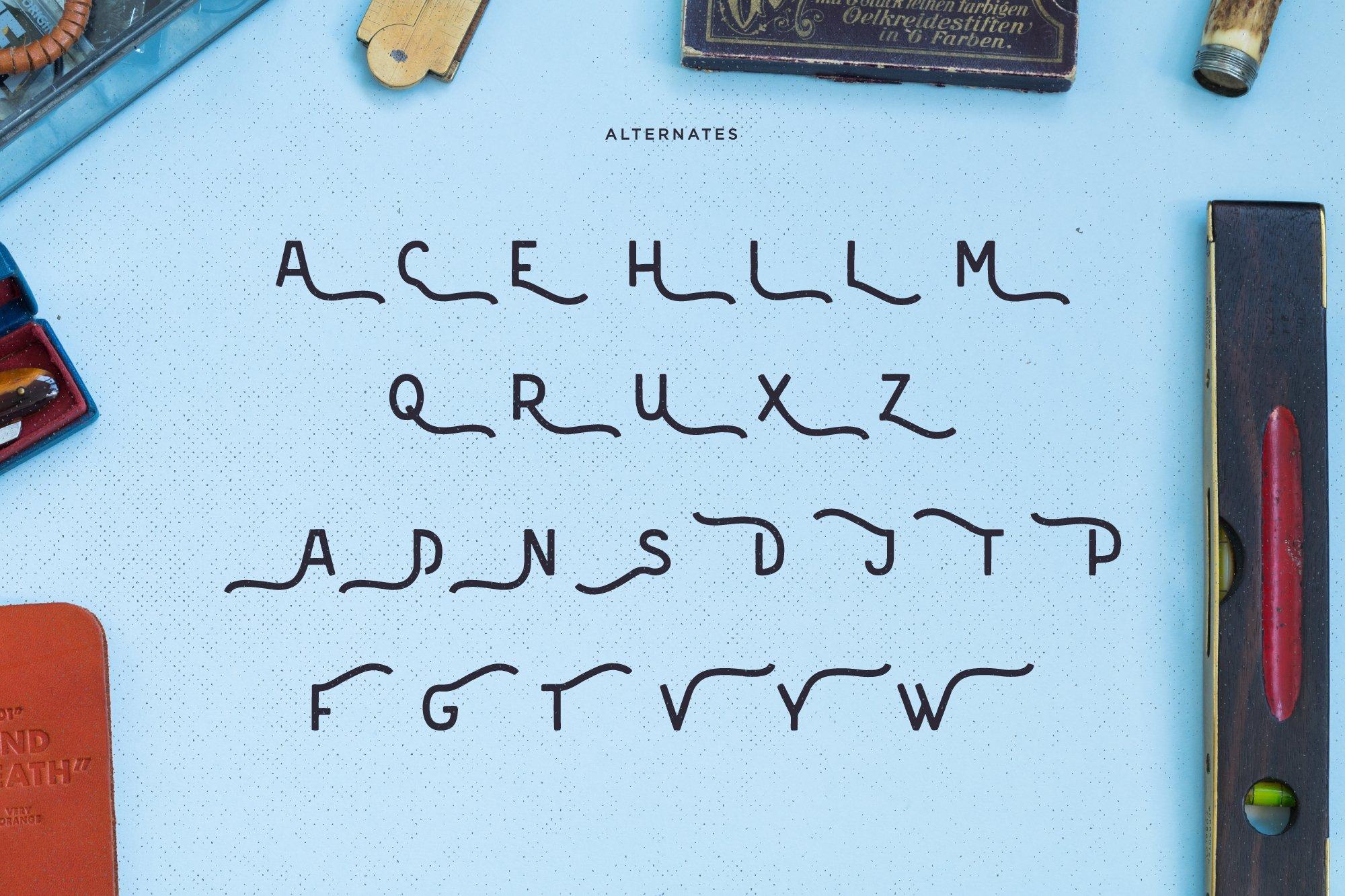 Merfolk Typeface Font example image 3