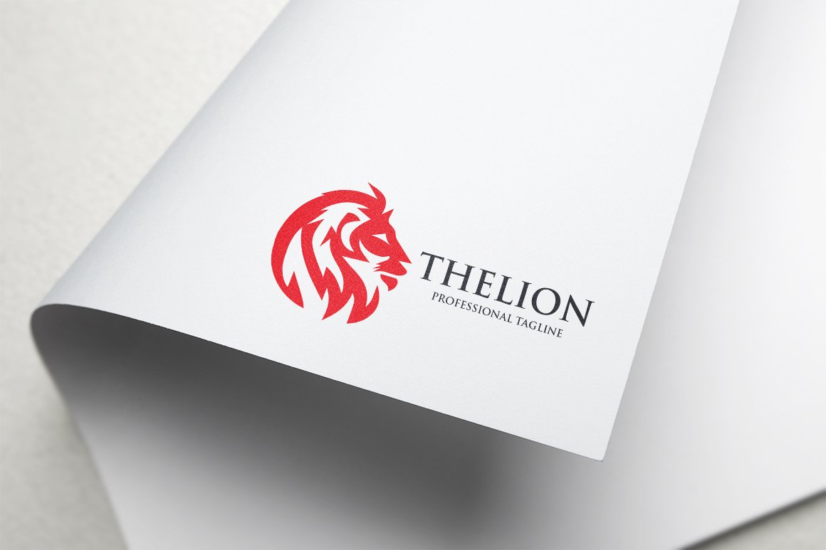 The Lion Logo example image 3
