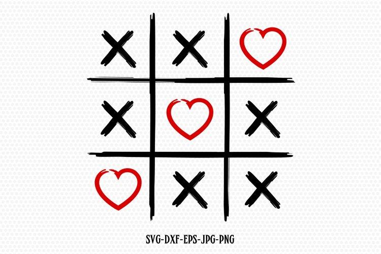 Valentines Tic Tac Toe Svg Valentine Svg 176084 Svgs Design Bundles