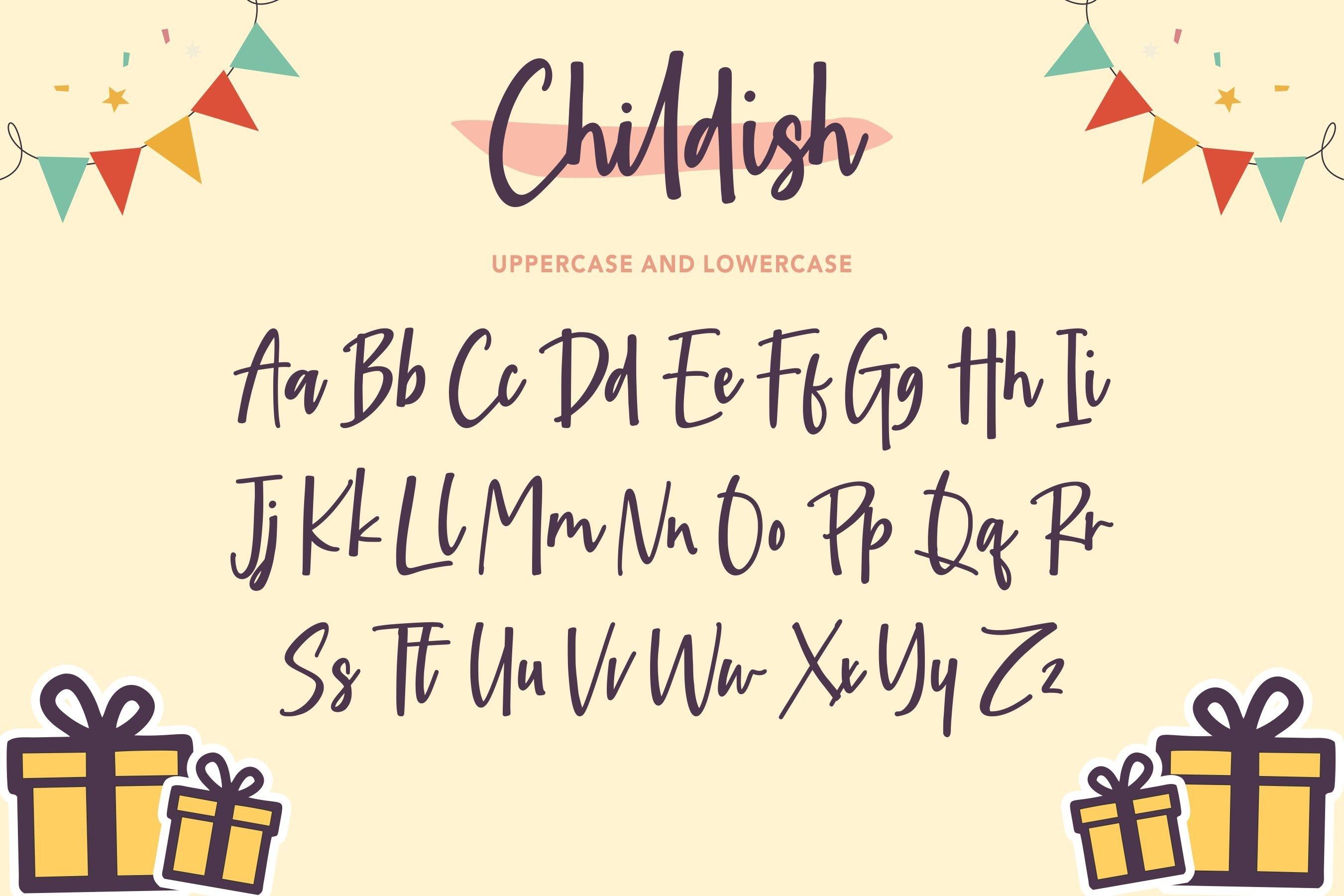 Childish Sweet Handwritten Font example image 6