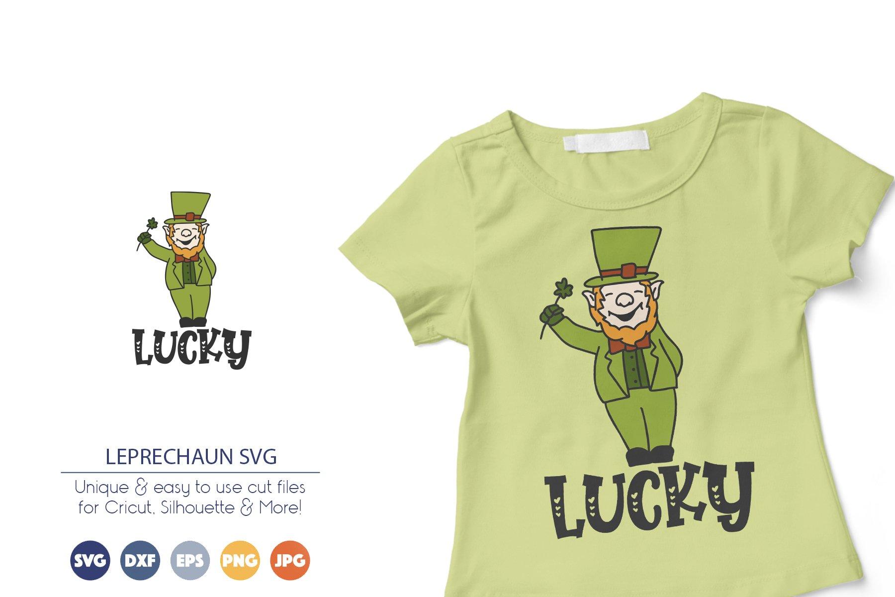 Leprechaun SVG | Lucky Irish SVG example image 1