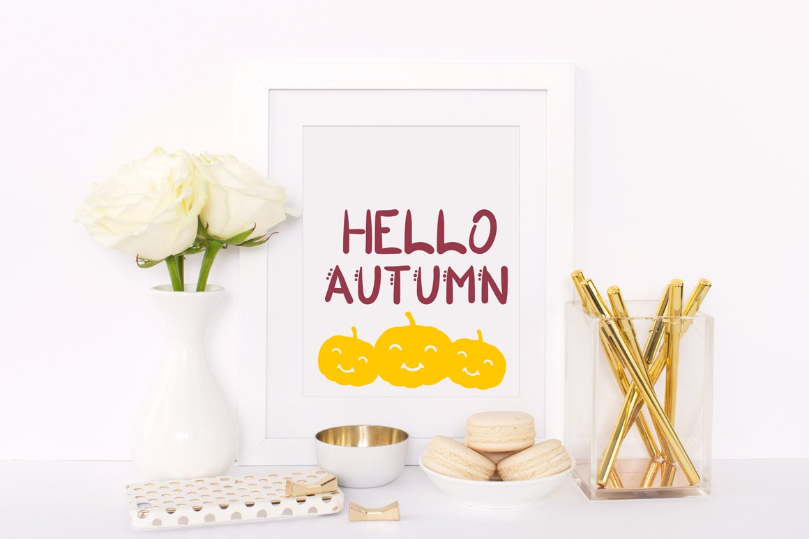 Autumn Blessings example image 2