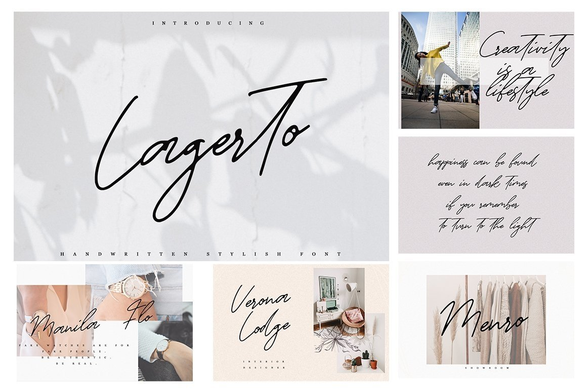Font Bundle 70 in One example image 5
