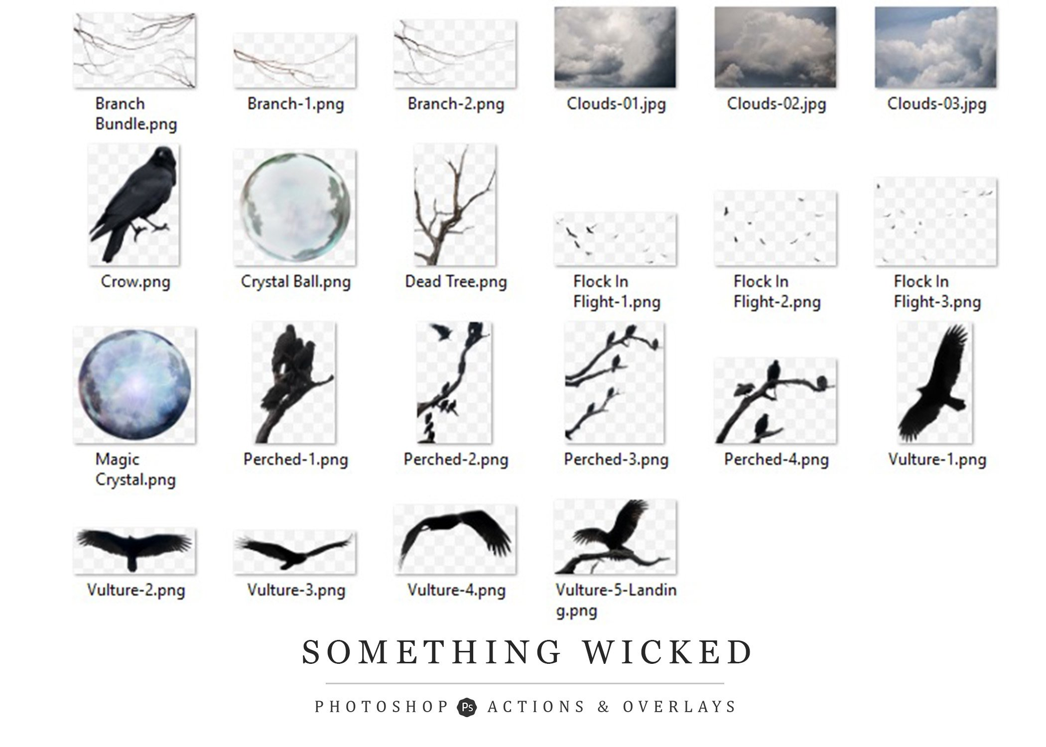 Something Wicked Action Collection example image 3