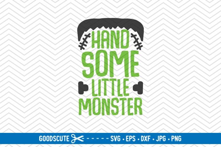 Handsome Little Monster Halloween Svg Dxf Jpg Png Eps 295514 Svgs Design Bundles
