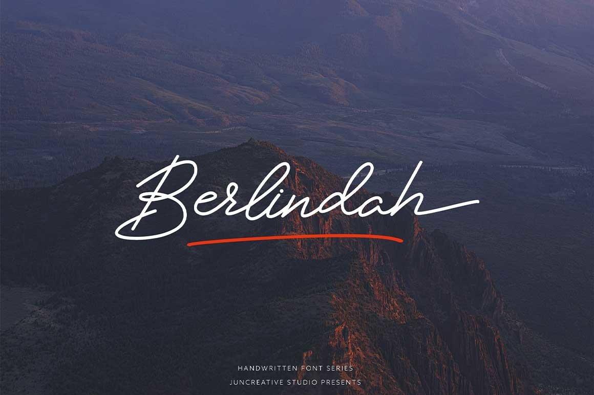 HUGE BUNDLE - Calligraphy Font example image 21