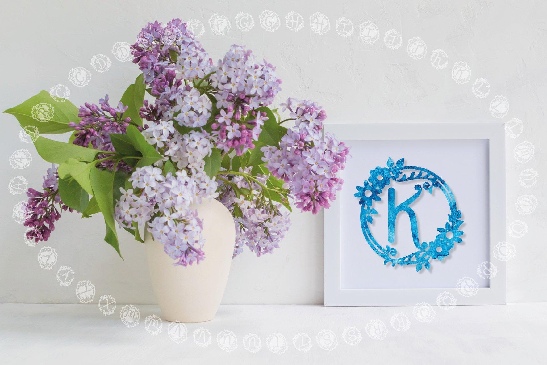 Garden Monograms - Font example image 2