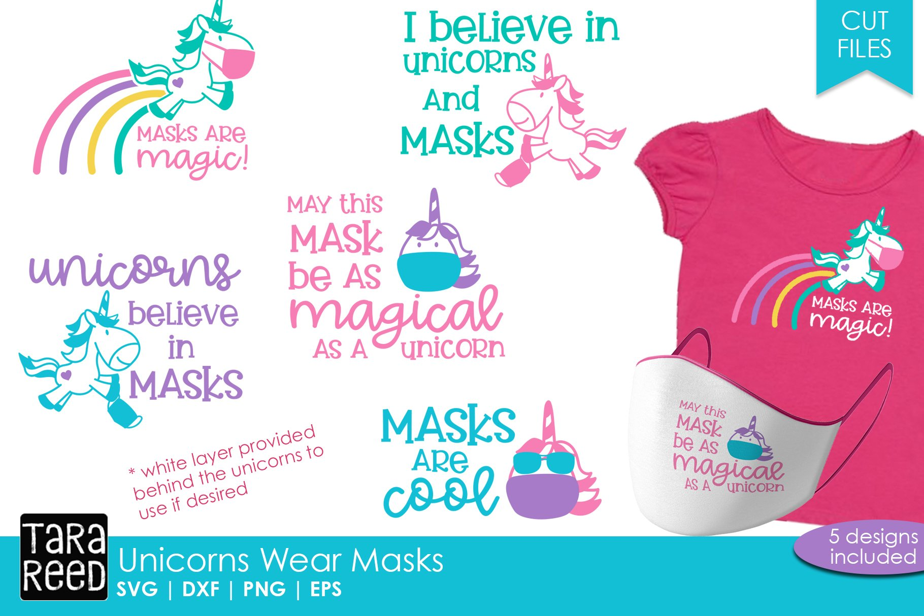 Unicorn Face Mask Sayings Svg And Cut Files For Crafters 764352 Cut Files Design Bundles