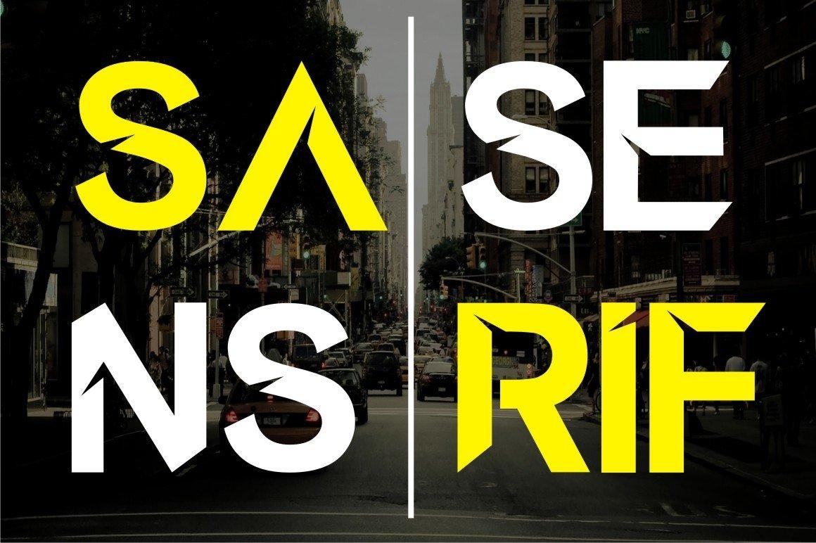 Arabuwa Typeface Font example image 3