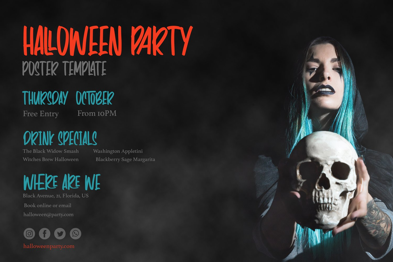 Panic Anthem - Hallowen Fonts example image 3