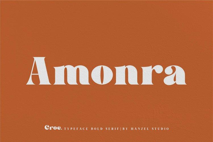 Croc. Typeface Bold Serif example image 4