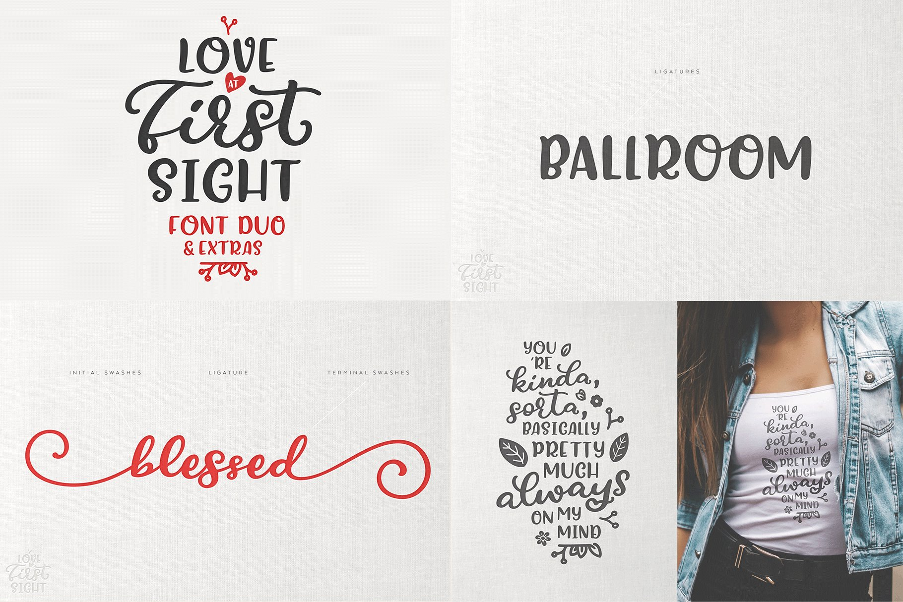 The Hand Lettered Font Bundle example image 19