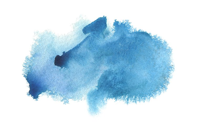 abstract blue watercolor blot cloud painting 923258 objects design bundles abstract blue watercolor blot cloud painting
