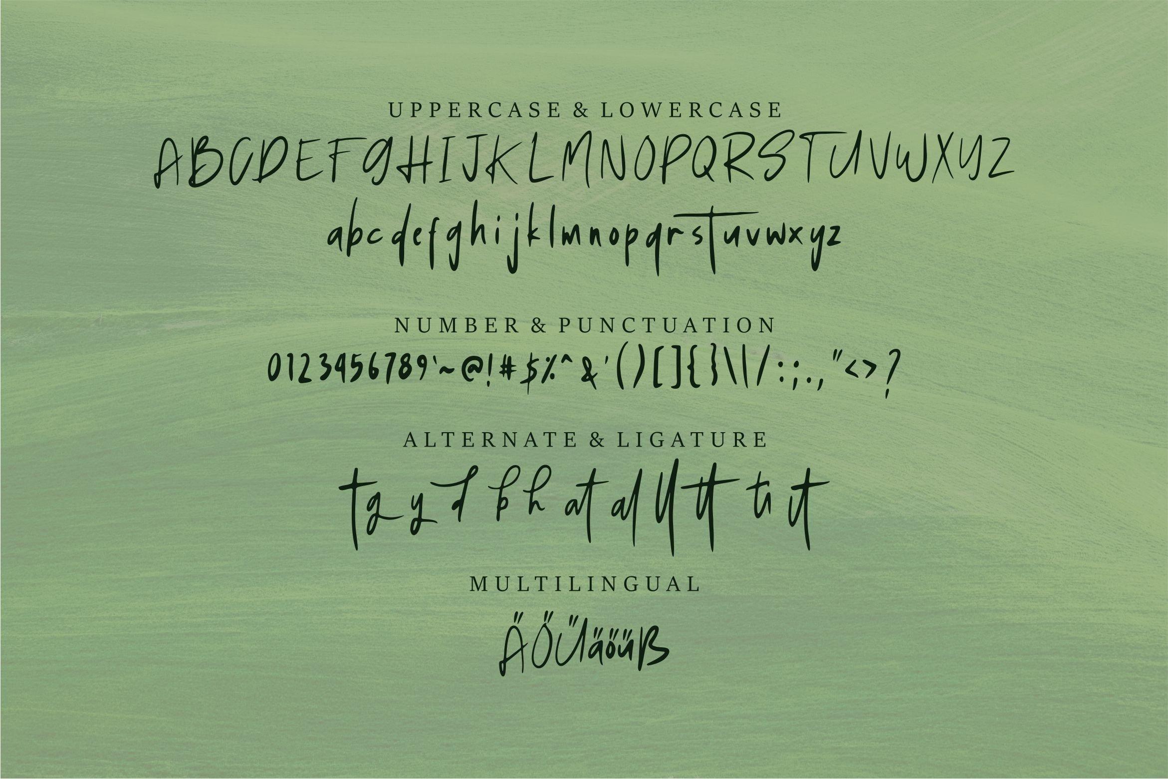 Sagerut - A Handwritten Font example image 6