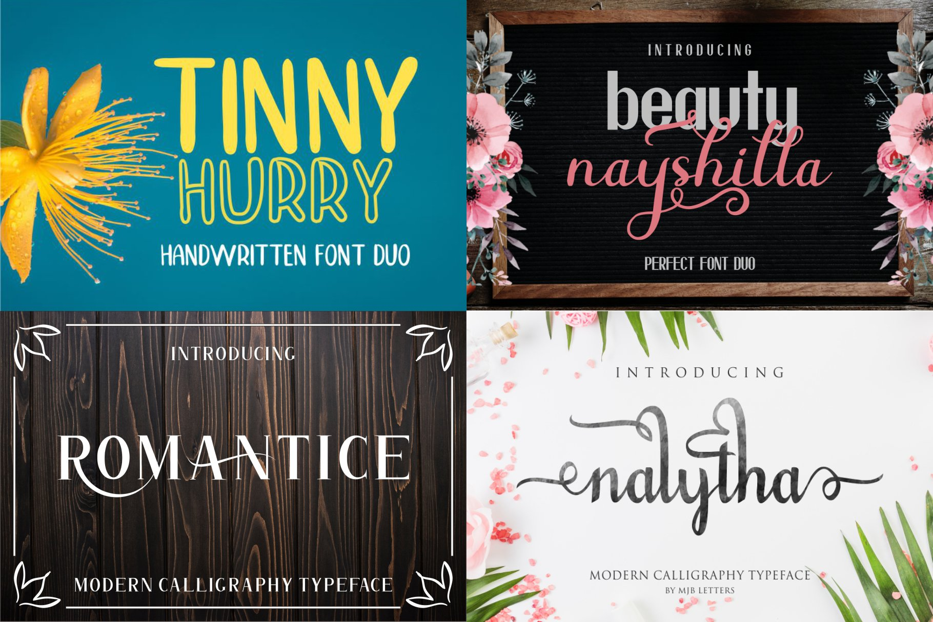 BIG BUNDLE - BEST FONT COLLECTIONS example image 13