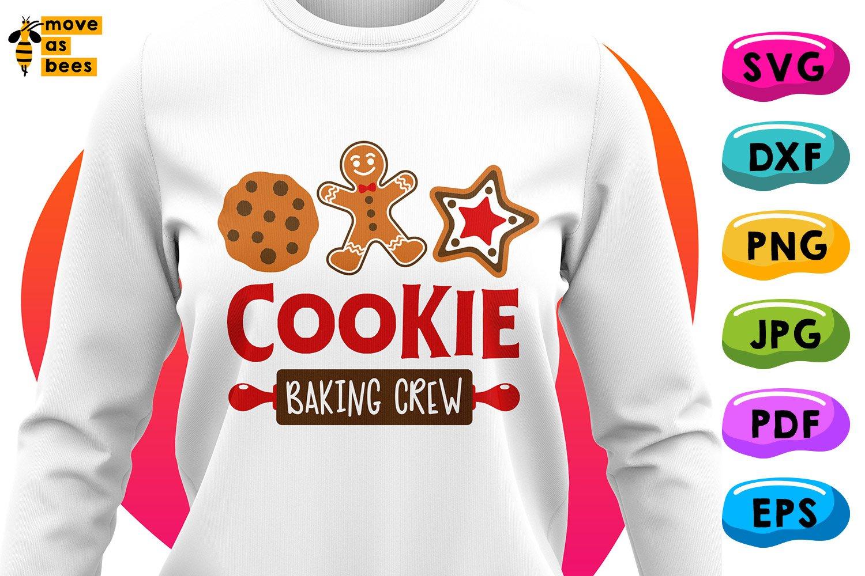 Cookie Baking Crew Svg Family Christmas Shirts Svg Png Dxf 1088309 Cut Files Design Bundles