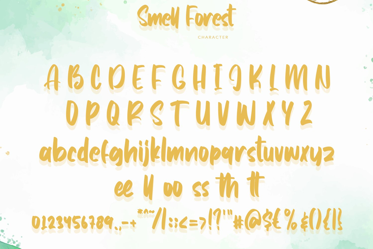 SmellForest - Cute Fonts example image 5