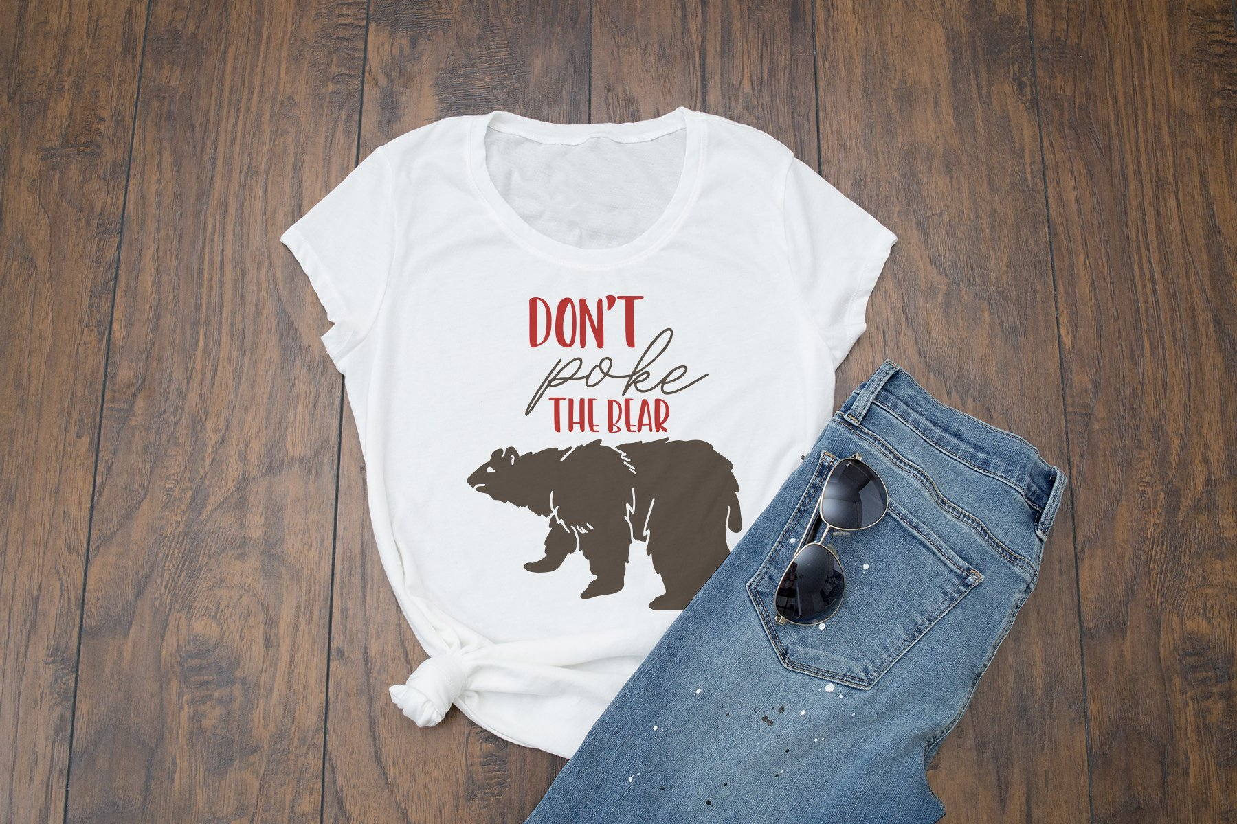 Don't Poke the Bear SVG example image 2