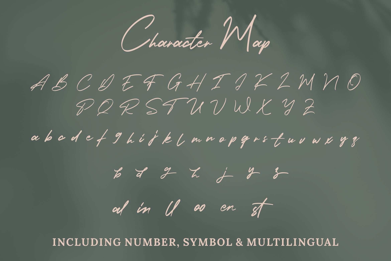 Holland Gateway - Handwritten Script Font example image 3