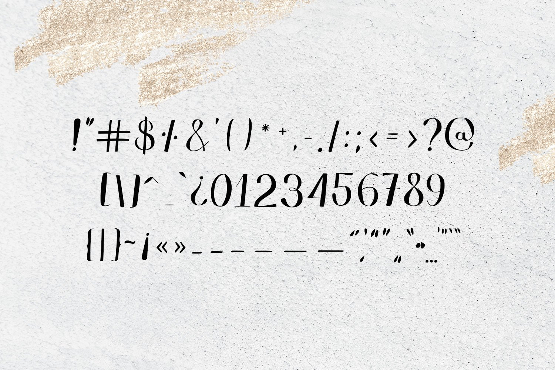 Edredon Font example image 7