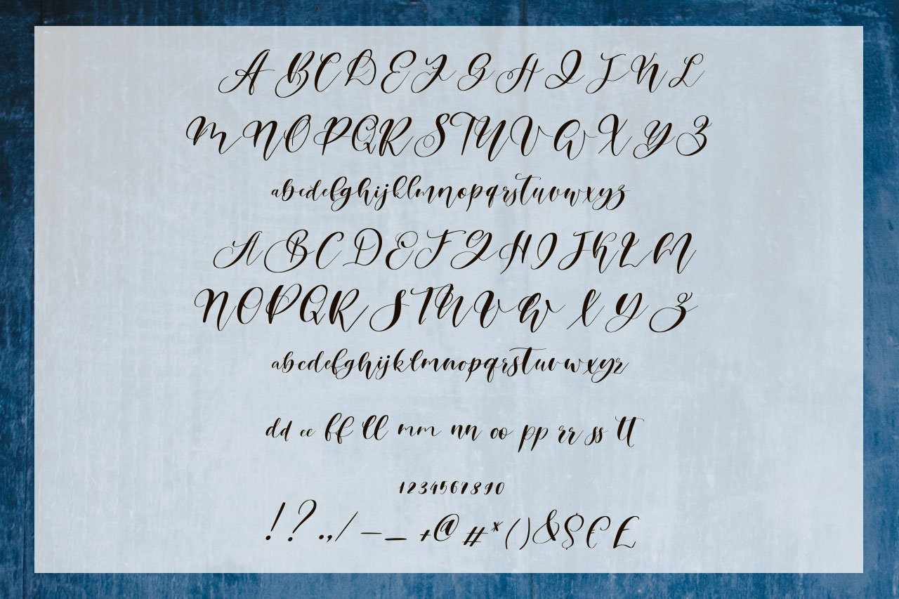 Southyouth Script Font example image 10