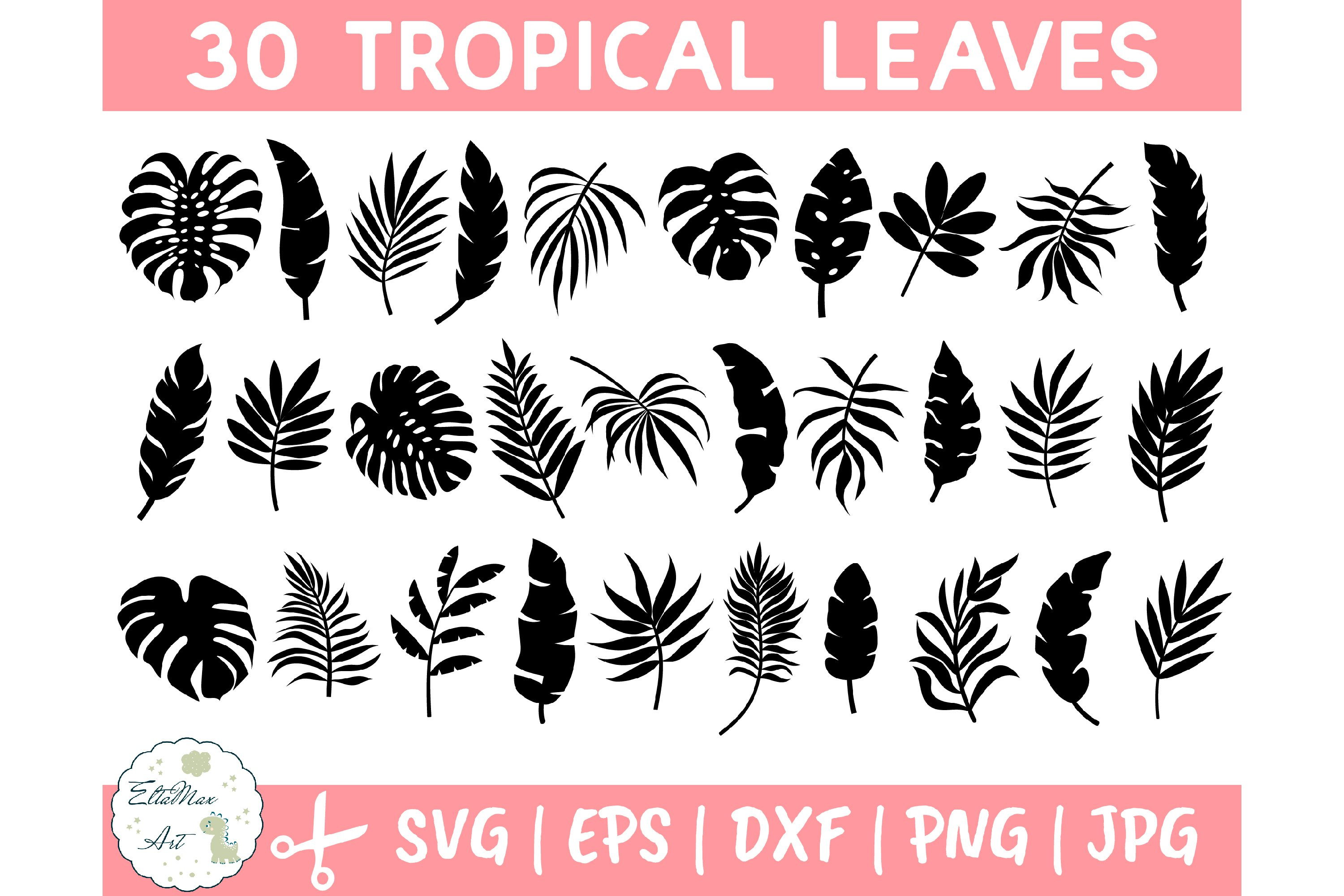 Tropical Leaves Svg Bundle Palm Leaves Svg Jungle Leaves 645832 Illustrations Design Bundles Choose from 700+ tropical leaves graphic resources and download in the form of png, eps, ai or psd. tropical leaves svg bundle palm leaves svg jungle leaves