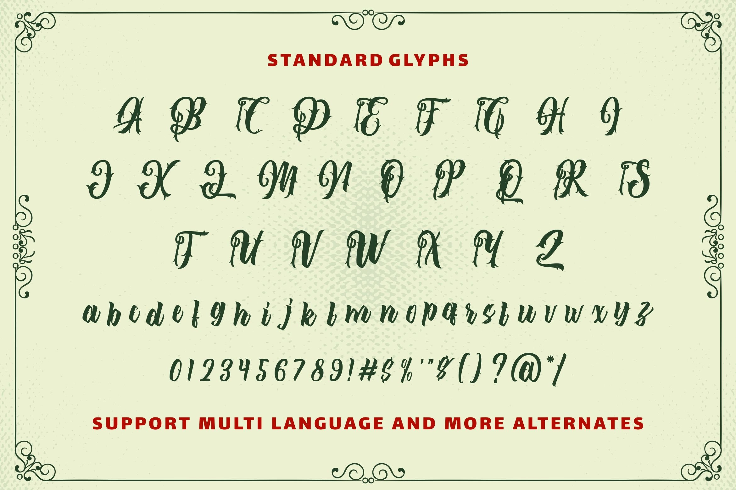 The Lastring - Tattoo Script Font example image 8