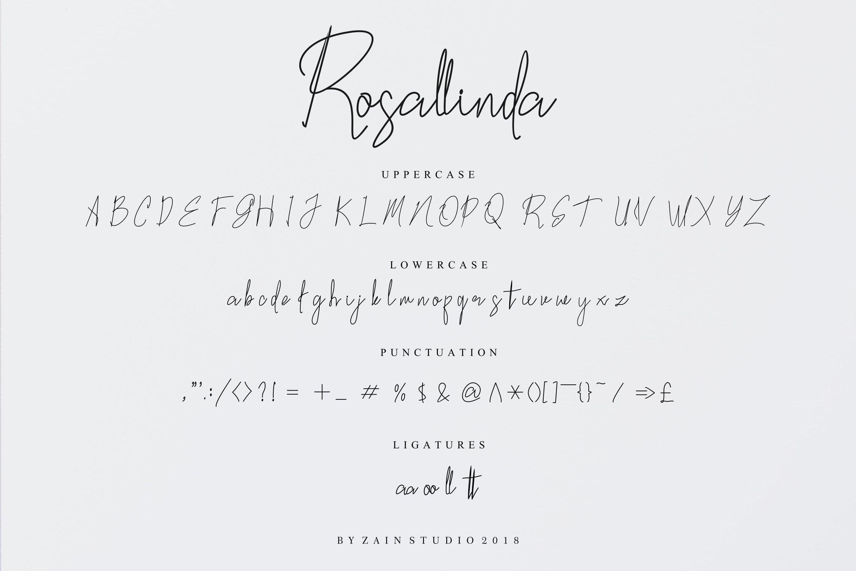 Rosallinda Script example image 9