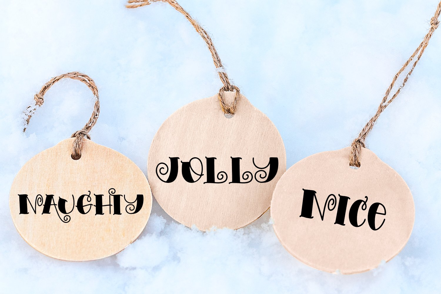 Snowy Mornings - A Hand-Lettered Christmas Font example image 4