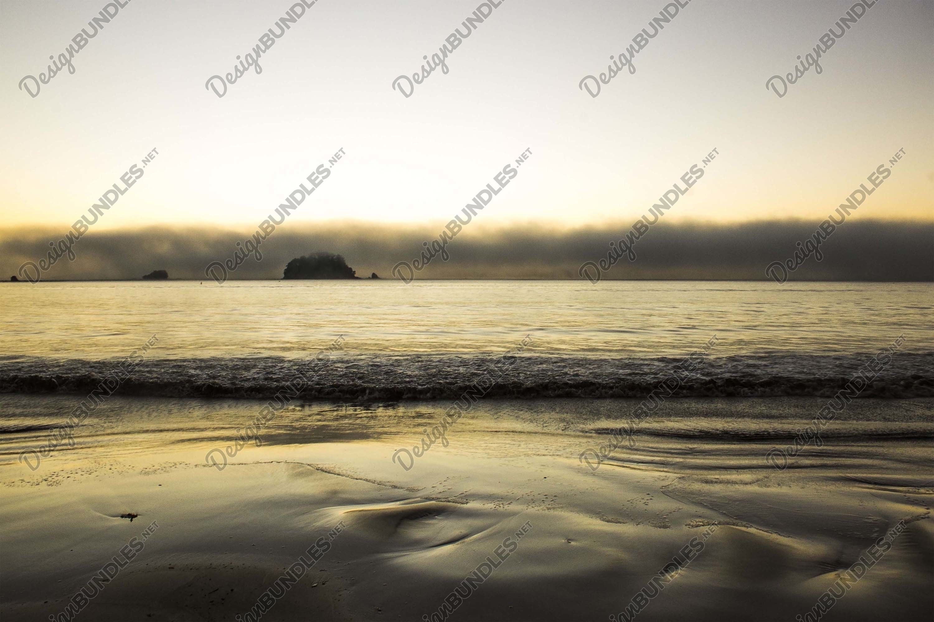 Stock Photo - Scenic View Of Sea Against Sky During Sunset example image 1