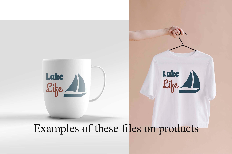 Lake Life SVG example image 2