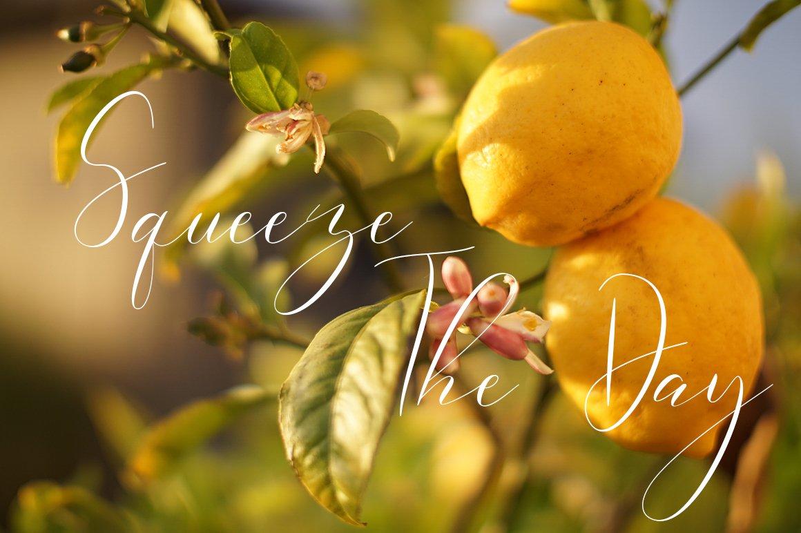 Lemonade Modern Calligraphy example image 3