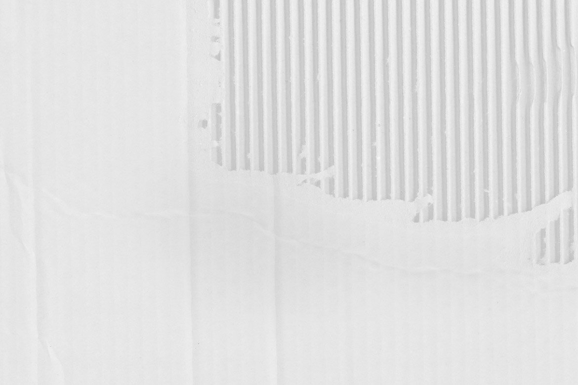 White Cardboard Textures 1 example image 5