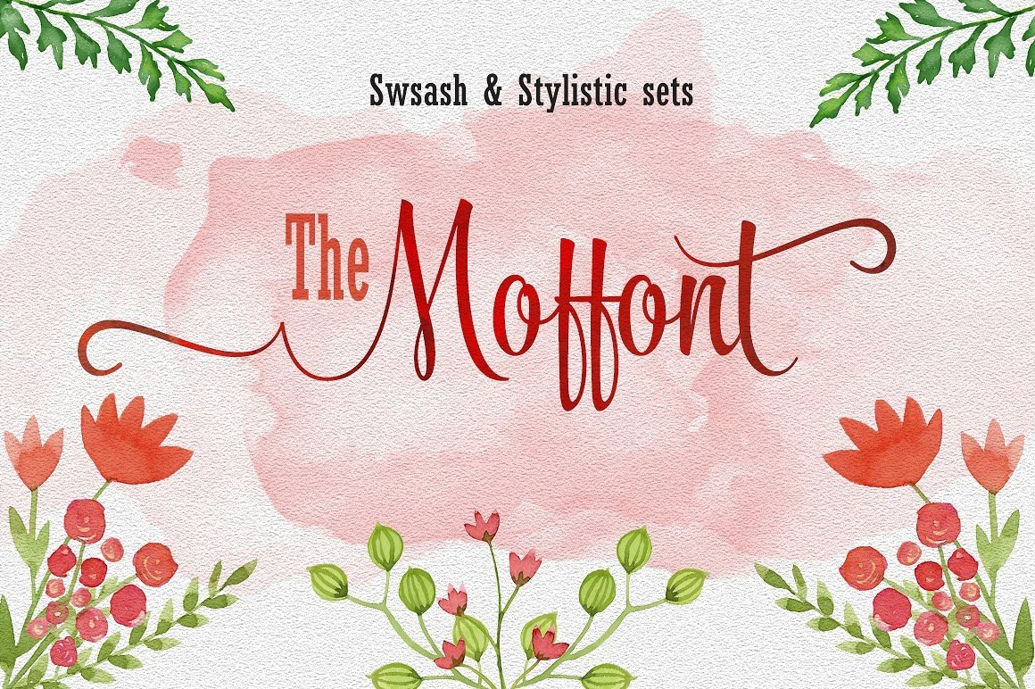 Font Bundle includes 54 fonts in 40 Typefaces example image 17