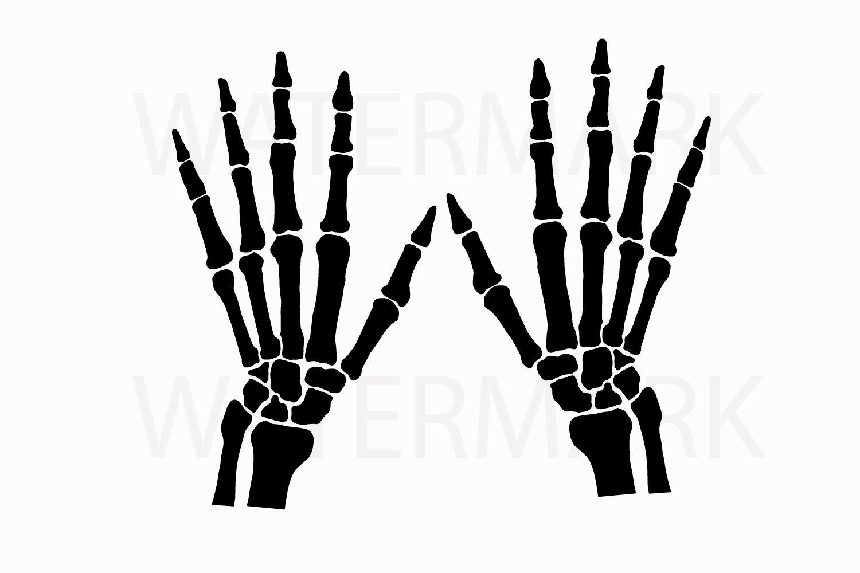 Skeleton Hand Left And Right Svg Jpg Png Hand Drawing 77383 Illustrations Design Bundles
