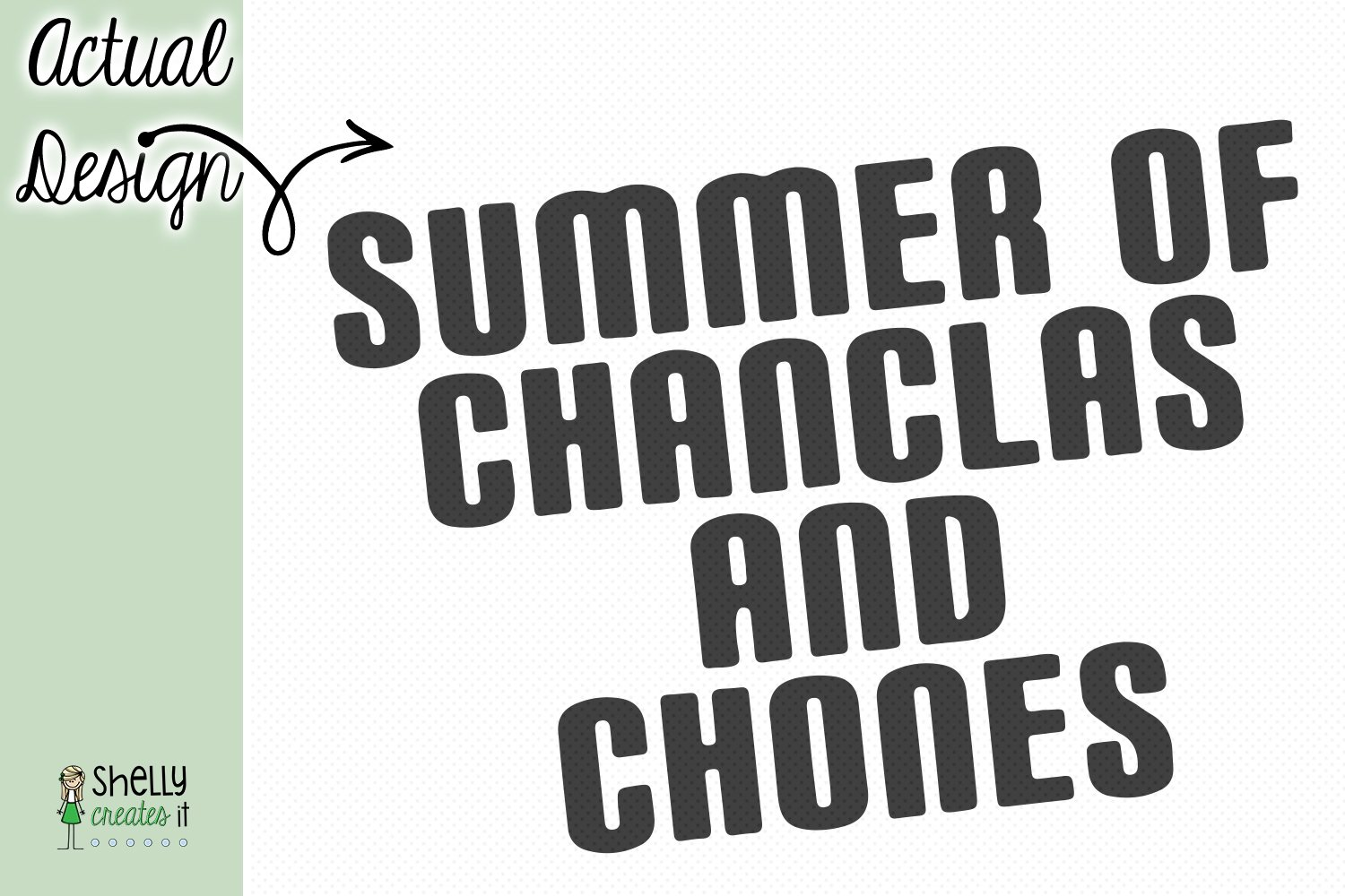 Summer of Chanclas example image 2