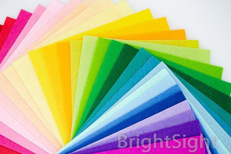 Colorful felt example image 1