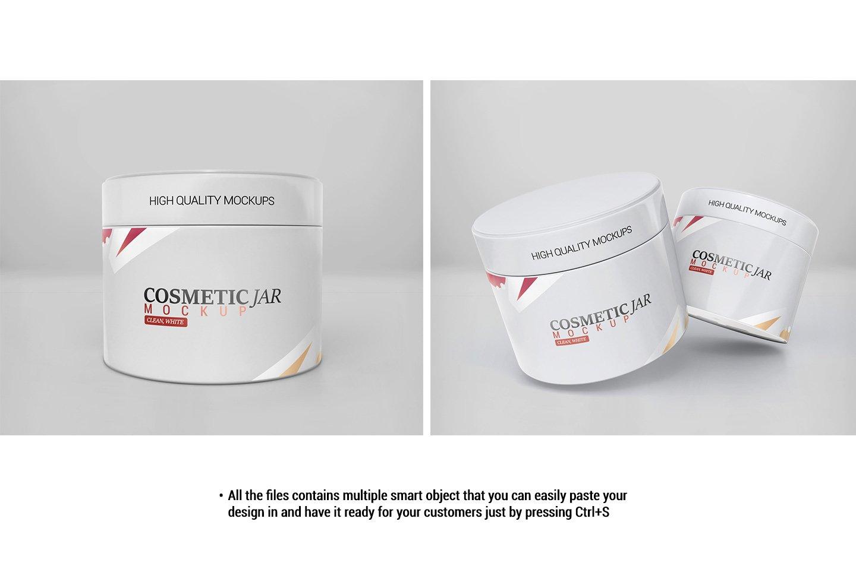 Cosmetic Jar Mockup example image 5