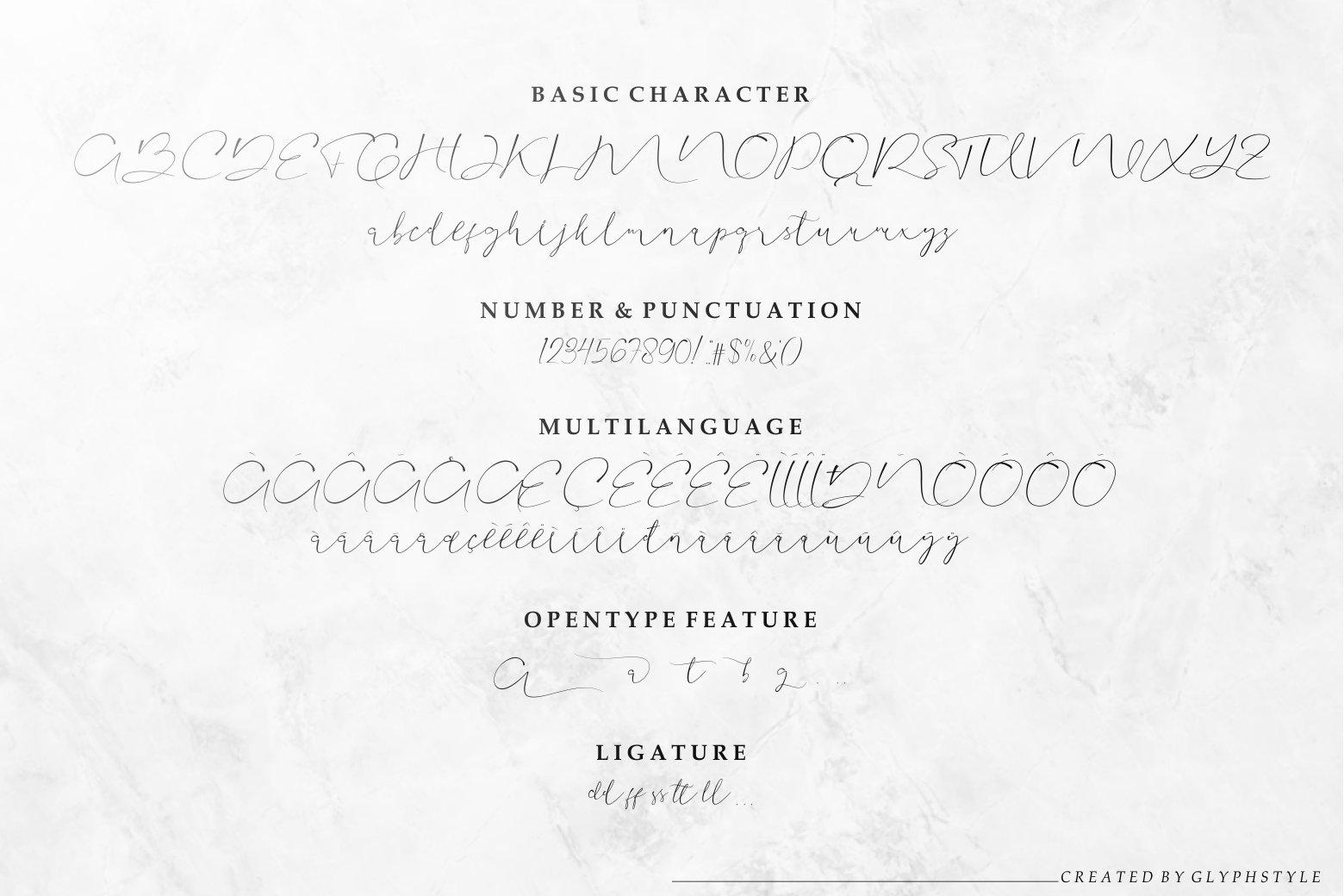 Aullia Modern Calligraphy example image 7