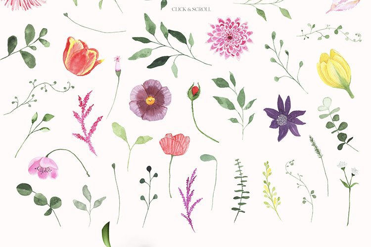Summer Floral Fields collection example image 16