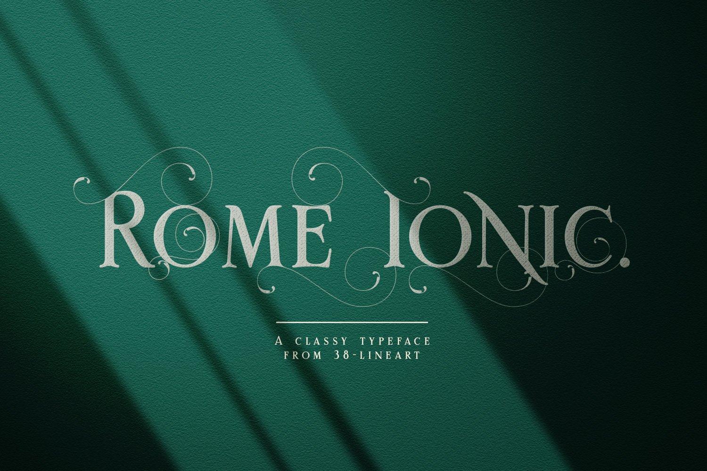 Rome Ionic example image 1