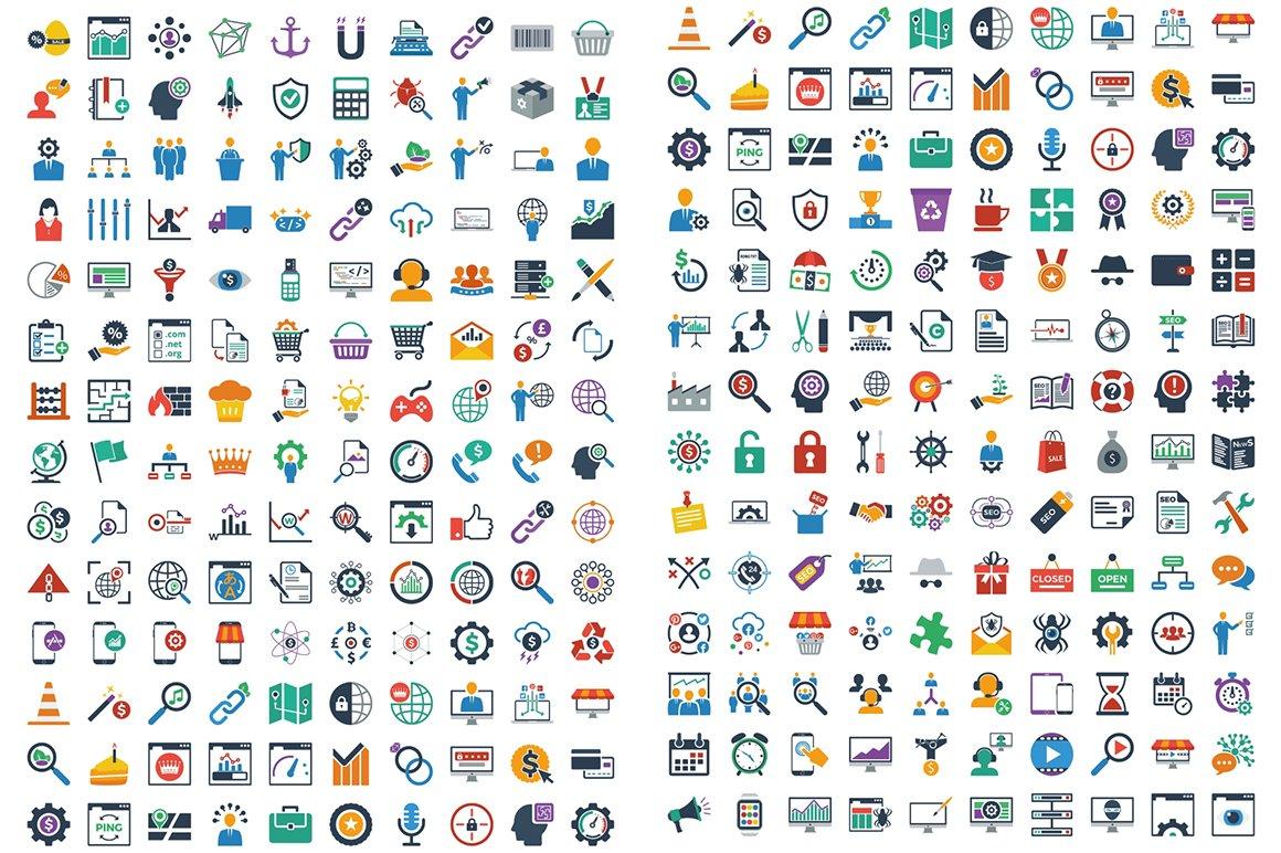 1000 Ultra Big Bundle Infographics Elements example image 16