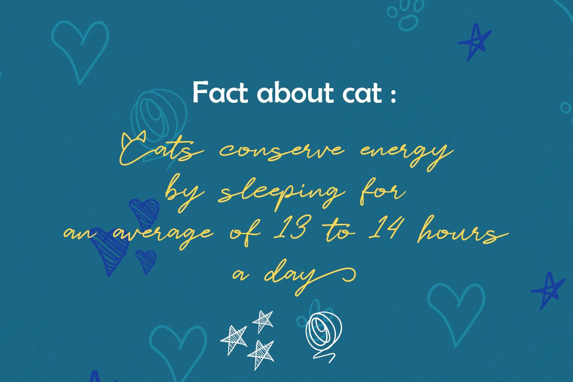 Catlove Lovely Font example image 3