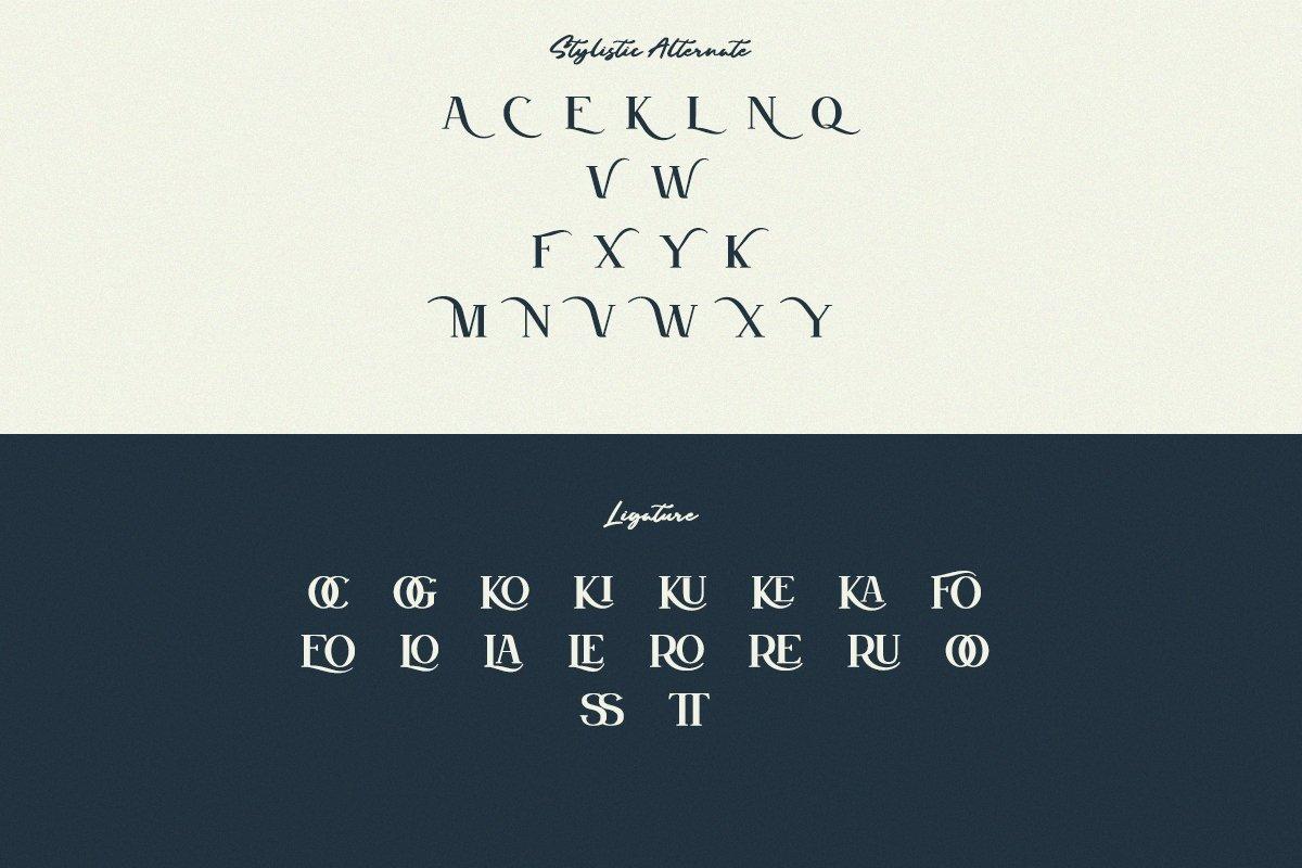 GROWN - Modern Serif example image 9